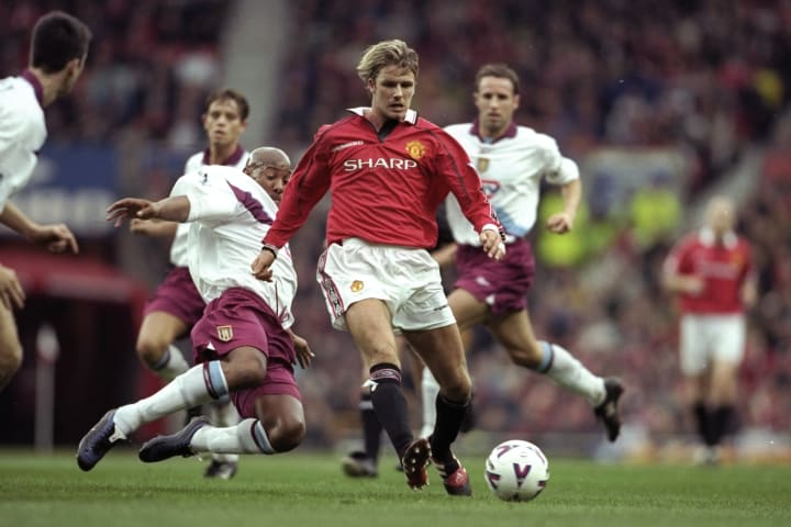 David Beckham won just about everything there is to win at United