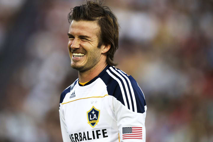 David Beckham has helped to grow the profile of football in the United States