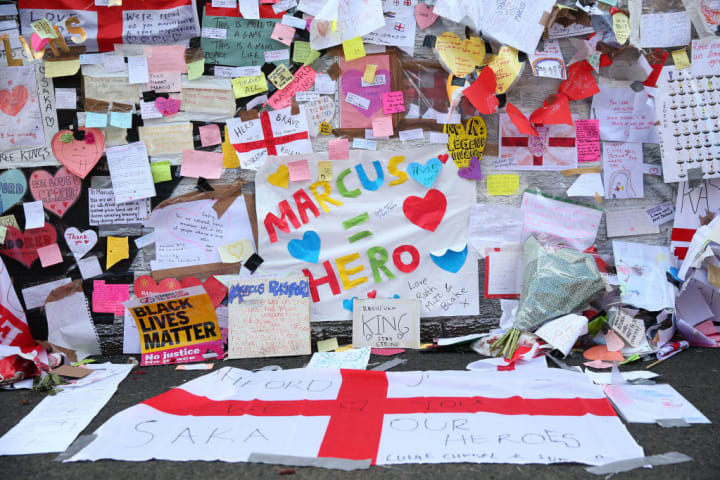 Thousands of well-wishers took to the streets to support Rashford