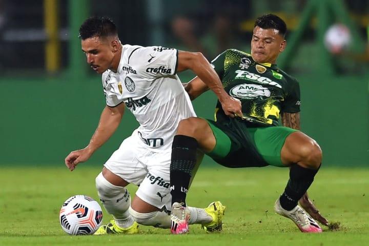Willian Walter Bou Palmeiras Defensa y Justicia Recopa Destaque