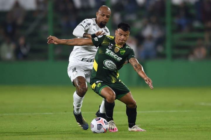 Walter Bou Felipe Melo Estreia Libertadores Palmeiras Universitario