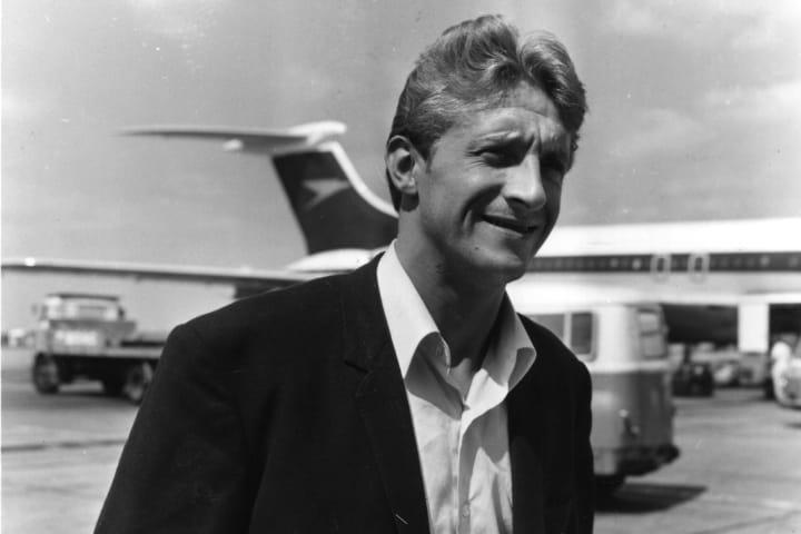 Denis Law scored a hat-trick when Man Utd returned to European football in 1963