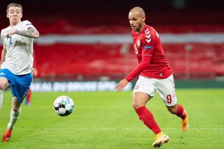 Braithwaite wants to be in the Denmark squad for Euro 2020 next summer