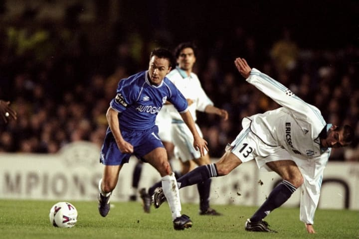 Wise in action against Marseille