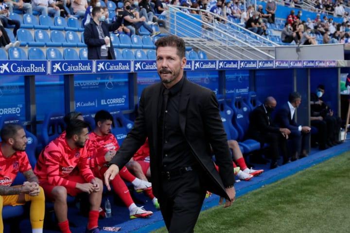 Diego Pablo Simeone Atlético de Madri Alavés LaLiga