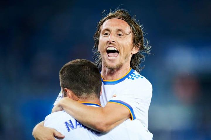 Luka Modric, Nacho Fernandez