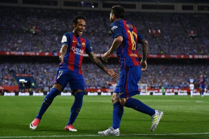 Lionel Messi Neymar Barcelona PSG