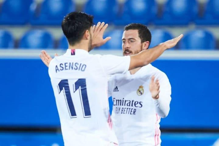 Eden Hazard, Marco Asensio