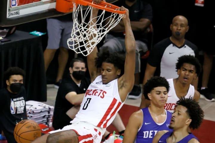 Jalen Green, Cade Cunningham, Houston Rockets