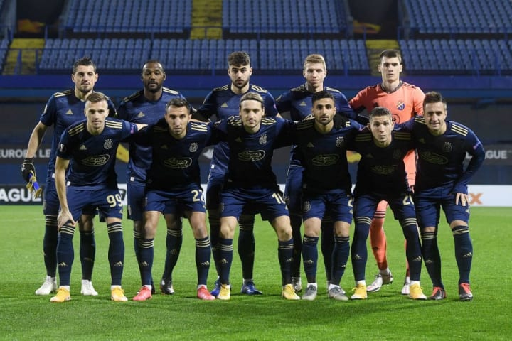 Dinamo Zagreb v CSKA Moskva: Group K - UEFA Europa League