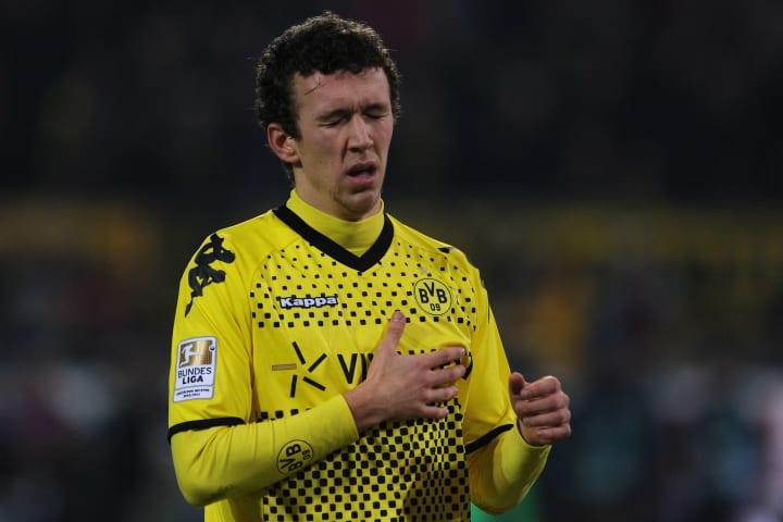 Dortmund's Croatian midfielder Ivan Peri