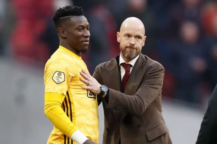 Ten Hag has accepted Andre Onana could also depart this summer