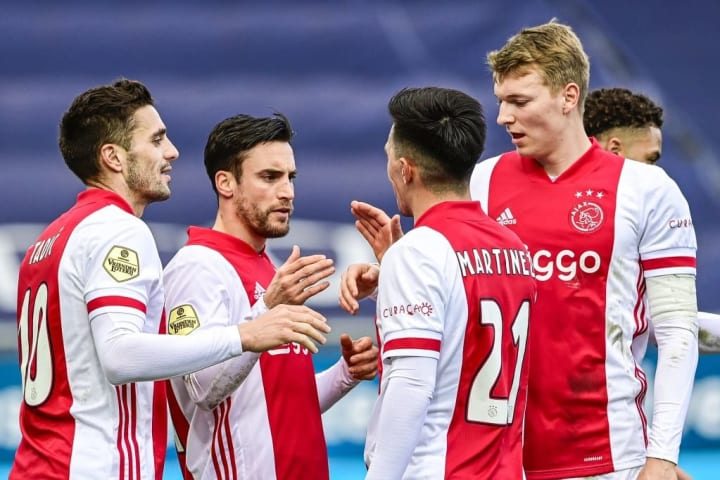 Ajax would be one of the sides likely impacted by the move