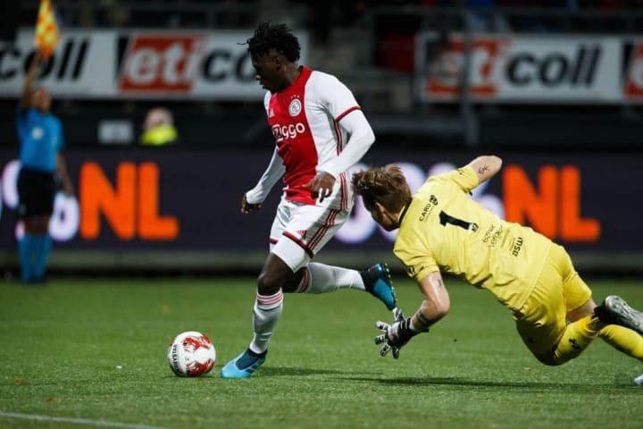 Traoré was already a star at Jong Ajax