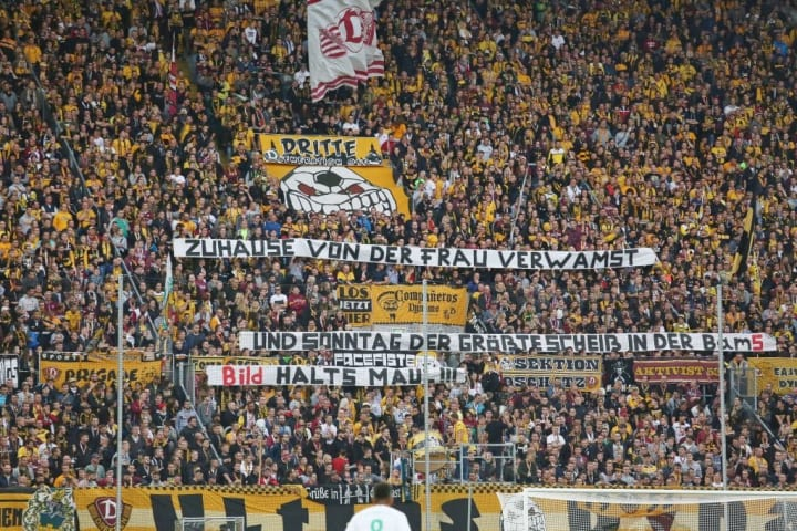 Dynamo Dresden v SpVgg Greuther Fuerth - Second Bundesliga
