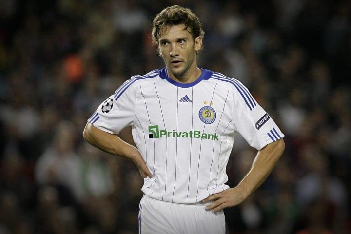 Dynamo Kiev's Ukrainian forward Andriy S