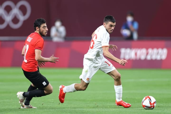 Spain were frustrated by a resilient Egypt