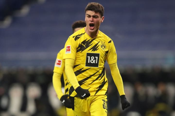 Reyna is one of a number of exciting young players at Dortmund