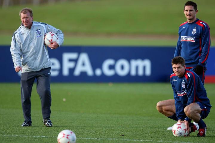 Steven Gerrard, Frank Lampard, Steve McClaren