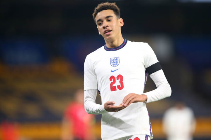 Musiala has represented England at Under-21 level