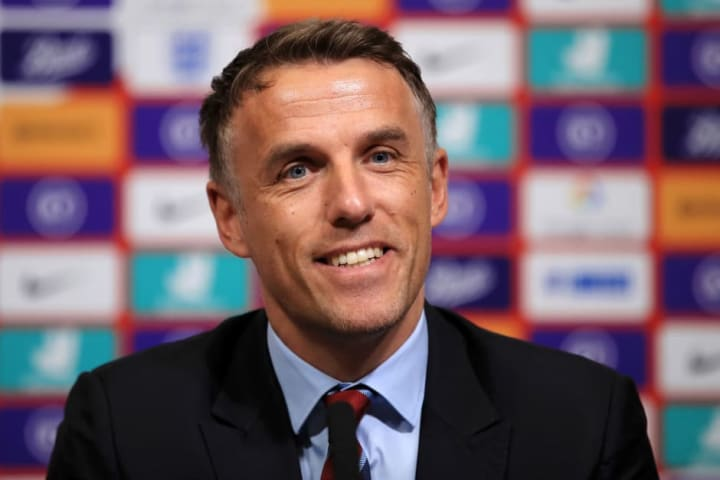 Phil Neville was recently appointed Inter Miami coach