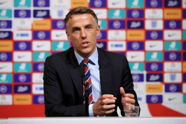 Neville was initially going to stay in charge until summer