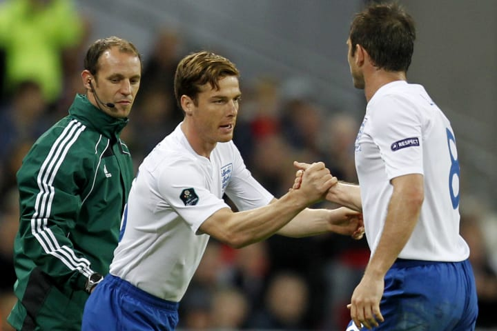 Frank Lampard and Scott Parker are former club and international team mates
