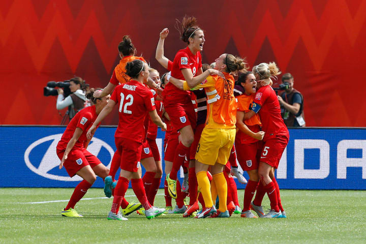 England finished third at the 2015 World Cup