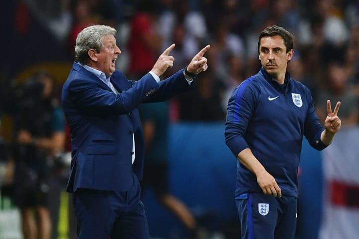 Roy Hodgson, Gary Neville