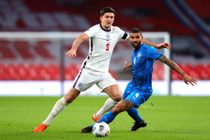 Maguire played well against Iceland
