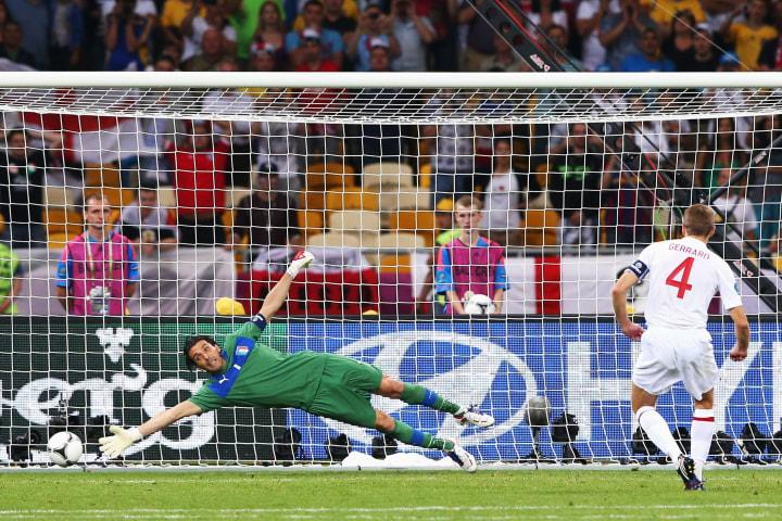 Steven Gerrard, Gianluigi Buffon