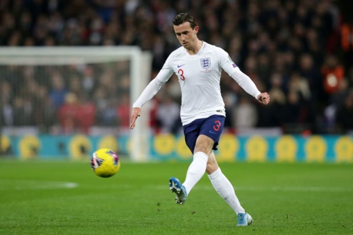 Chilwell has emerged as England's first choice left back