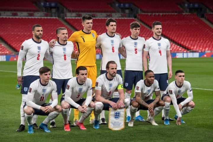England have a lot of very talented attackers, which is nice