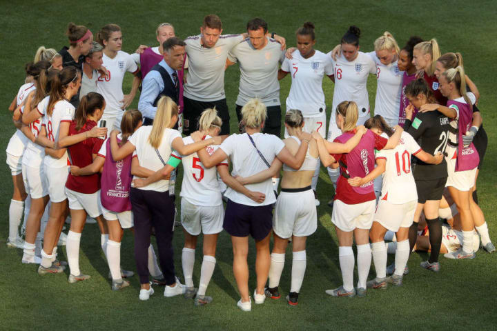 Neville's England finished fourth at the 2019 World Cup