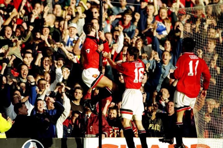 Man Utd vs Liverpool, 1995