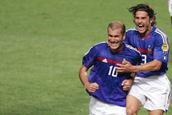 Zinedine Zidane, Bixente Lizarazu
