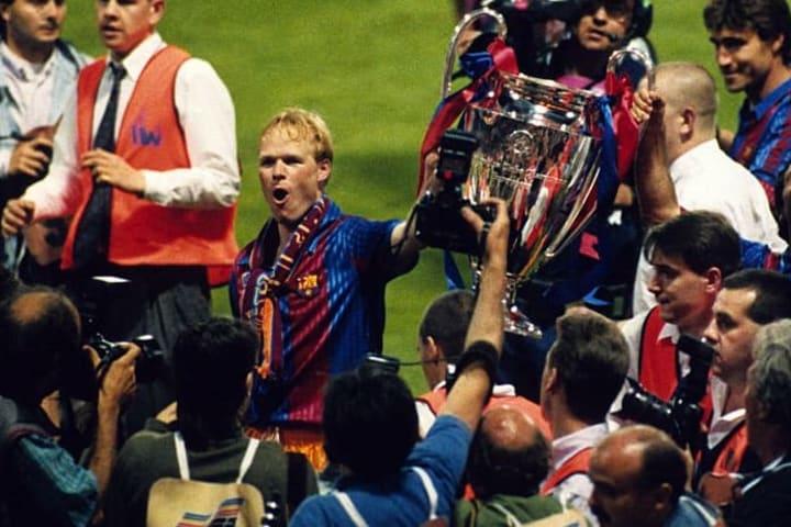 Koeman won the European Cup with Barcelona in 1992
