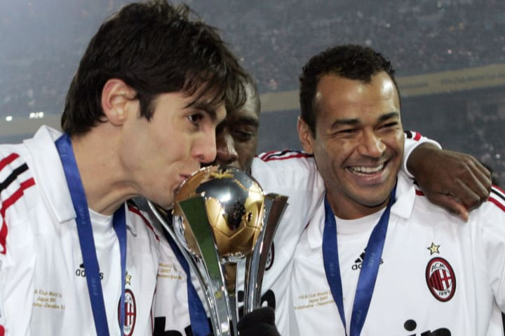 Juara Eropa penyerang AC Milan Kaka
