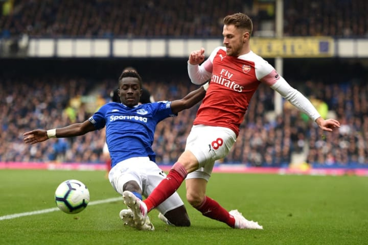 Ramsey has scored more goals against Everton (six) than any other side in his career