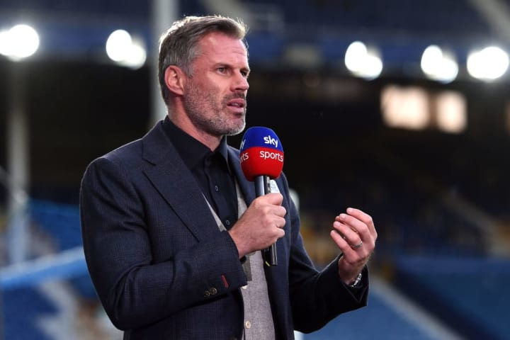 Jamie Carragher is a main voice on Sky Sports