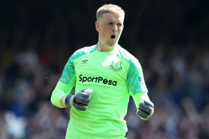 Pickford has suffered a lot of online abuse since the incident occurred