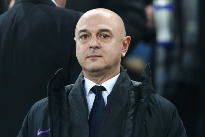 Daniel Levy is still on the hunt for a new boss