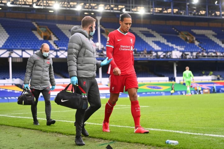 Van Dijk needed ACL surgery after tackle from Jordan Pickford