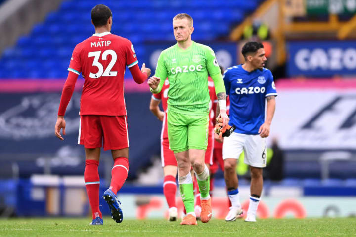 Matip underwent a scan after the 2-2 draw with Everton