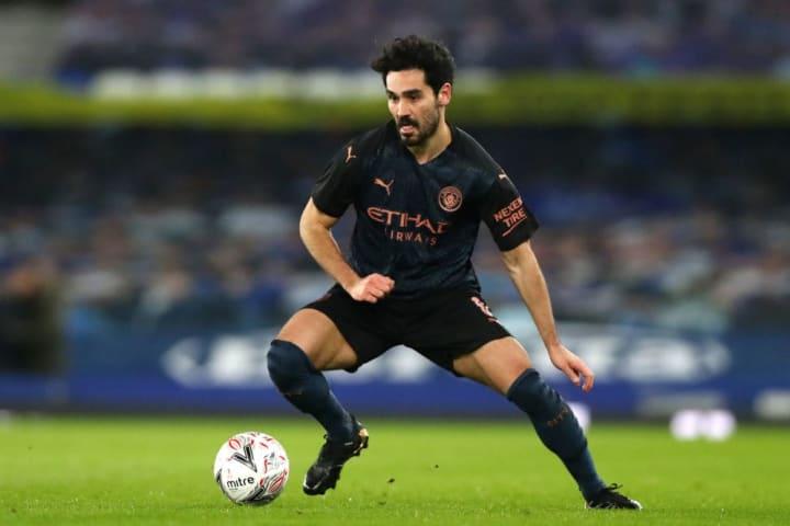 Ilkay Gundogan is expected to start in midfield