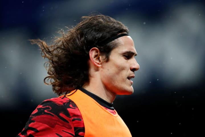 Cavani was heavily involved in the opening exchanges