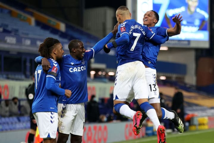 A crazy FA Cup tie saw Everton come out on top against Spurs