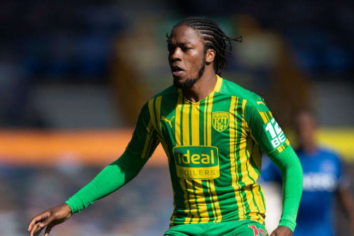 Sawyers was outstanding in West Brom's promotion campaign
