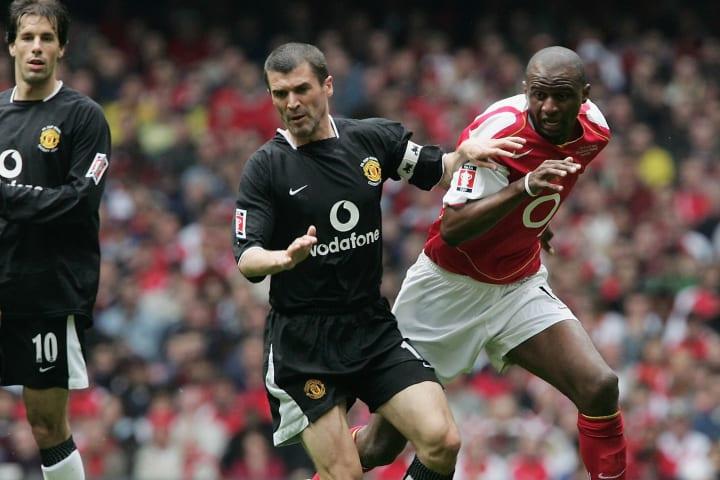 Patrick Vieira, Roy Keane