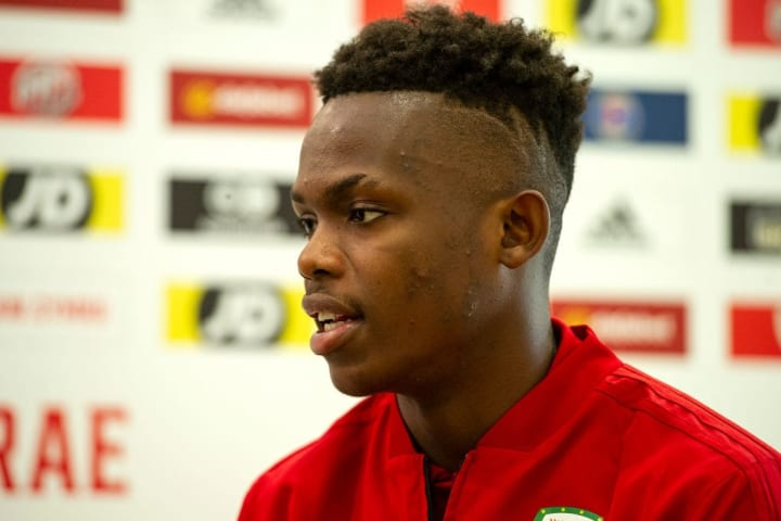 FAW Training Session and Press Conference